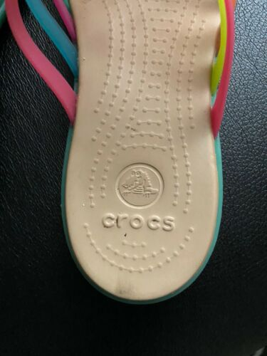 Womens Colorful Criss Cross Strappy Flip Flop 6
