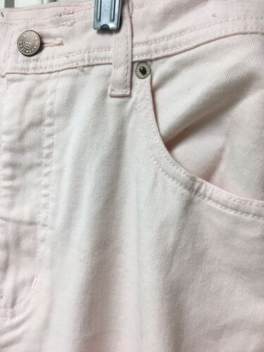 Bill Blass Jeans Women's Size 10 Light Pink Washed Pants Stretch