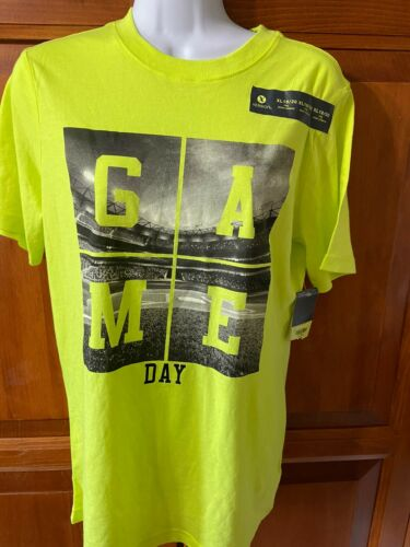 Youth Xersion T-Shirt Game Day Neon Green Sz 18/20