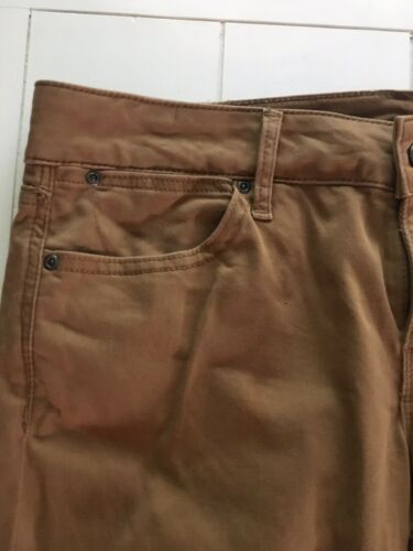 Dark Beige Pants Always Skinny Women's Size 30/10 W/ Pockets And Zipper, Button