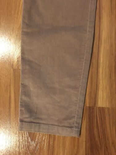 New York And Company Women's Size 10 Beige Corduroy Pants Leggings NWT