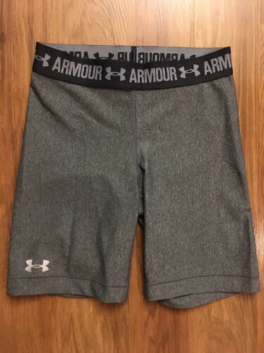 Under Armour Women's Size XS Grey Spandex Shorts
