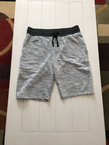 Brooklyn Cloth Men's Size Large Grey Cotton Shorts Drawstring Waist