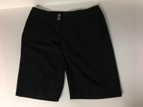 Michael Kors Women's Size 4 Black Bermuda Shorts W/ Pocket Flaps