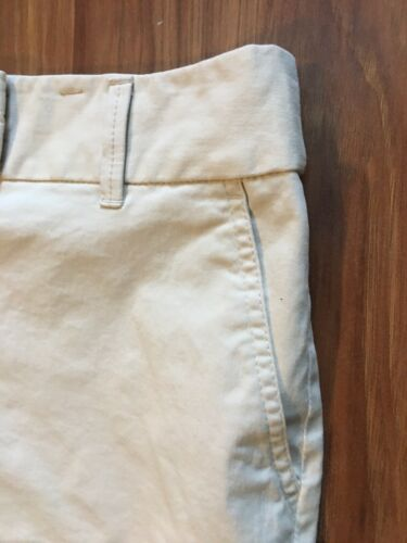 Ann Taylor Loft Women's Size 10 The Riviera Short Light Beige/khaki Color