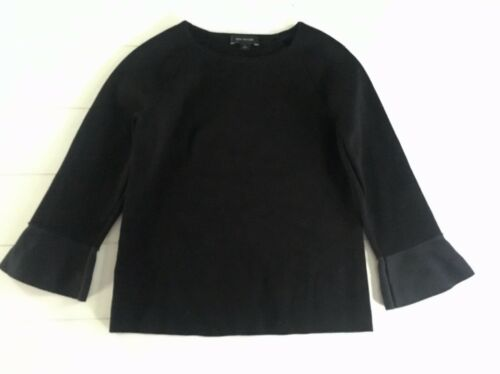 Ann Taylor Women's Size Small Solid Black Long Sleeve Sweater