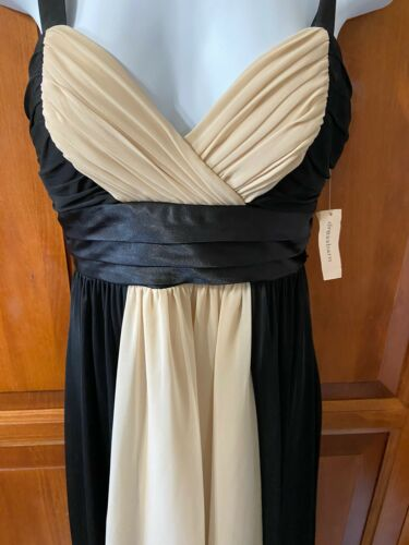 Women's Dressbarn Collection Spagetti Strap Dress Black Sz 6 New With Tag
