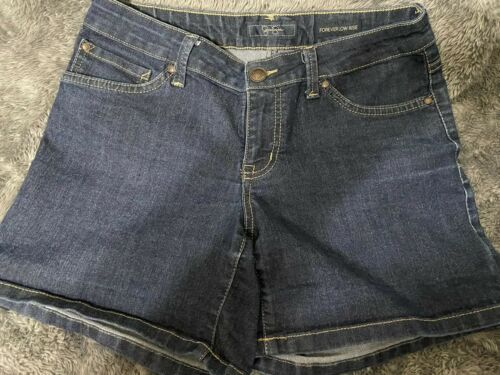 Women's Jessica Simpson Blue Jean Shorts Forever Low Rise Sz 28