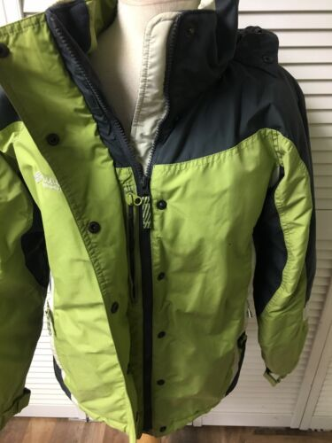 Columbia Sportswear Company Women's Size Medium Green Winter Coat Zipper Pockets