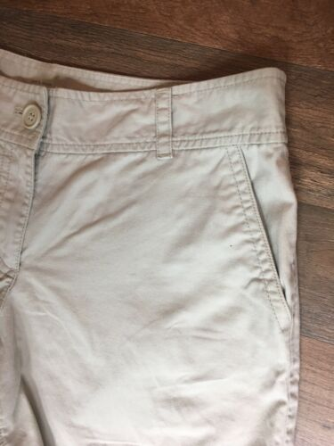 Anne Taylor Loft Women's Size 6 Original Light Beige Khaki Shorts With Pockets