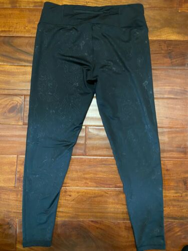 Women's Addidas Pants Climalite Black Sz XL