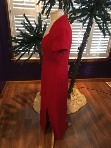 Liz Claiborne Dresses Women's Size 8 Red Dress Floor Length