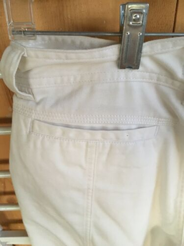 "American Heritage Dawson And Brooks Women's Shorts Size 31"" Waist Off White"