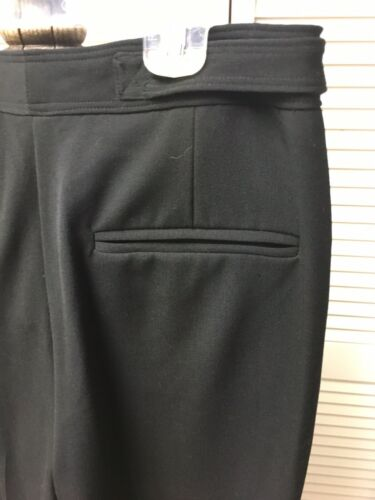Axcess Women's Size 4 Black Dress Pants Stretch W/ Zipper Closure NWT
