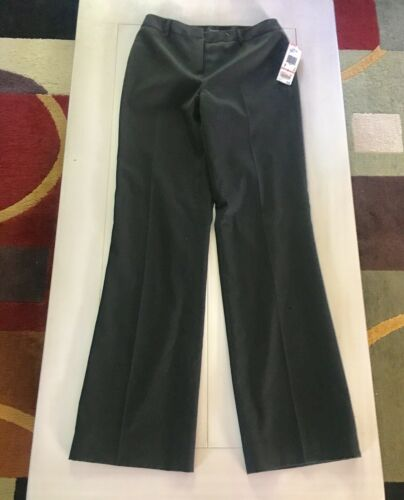 NEW Anne Klein Women's Size 2 Black Dress Pants Slacks NWT