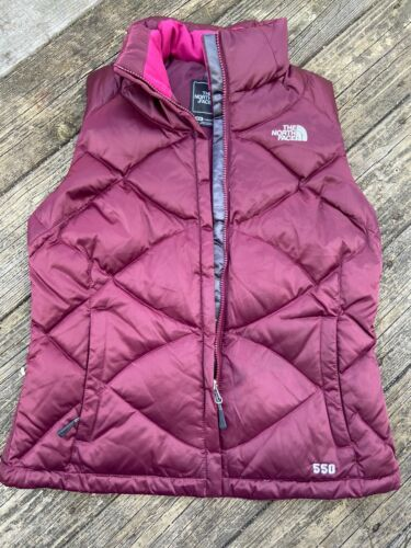 Womens North Face Puffy Vedt Sz M