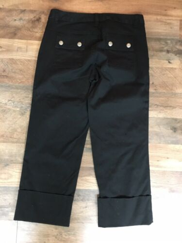 Banana Republic Women's Size 4 Black Pants Stretch With Pockets
