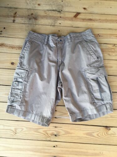 Gap Mens Size 35 Khaki Shorts W/ Cargo Pockets