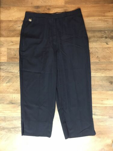 Lizgolf By Liz Claiborne Women's Sz 12 Black Capri Pants Anissa Fit Wrinkle Free