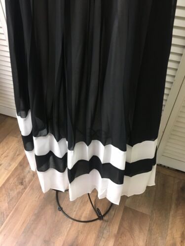 New York And Company Women's Size XS Black Sleeveless Dress Pleated