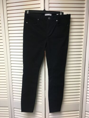 Loft Women's Size 4P Black Pants W/ Pockets And Zipper Closure Legging NWT