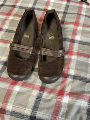Womens Merrell Chocholate Brown ORTHO Mary Jane Loafer Shoes Sz 7