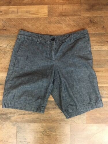 Ann Taylor Loft Women's Size 4 Original Shorts Grey With Pockets