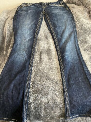 Women's BF Rock Express Los Angles Blue Jeans Sz 10 R Barely Boot