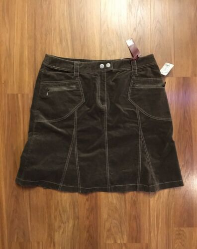 NEW Gitano Women's Size 14 Brown Skirt NWT