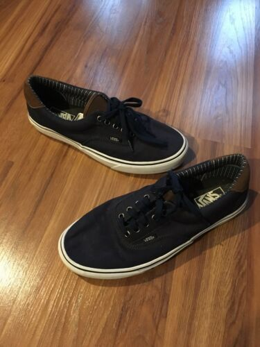 Vans Men's Size US 10 Navy Blue Sneakers