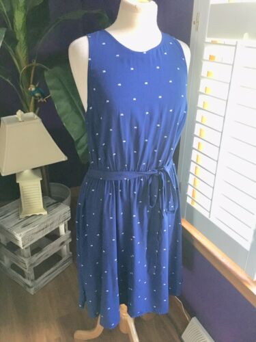 Old Navy Women's Size Large Navy Blue Dress With Belt NWT