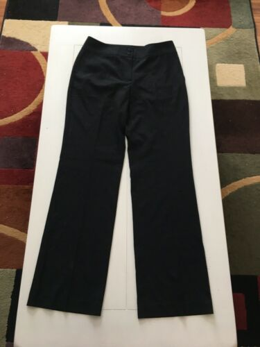 Talbots Women's Size 6 Stretch Black Dress Pants