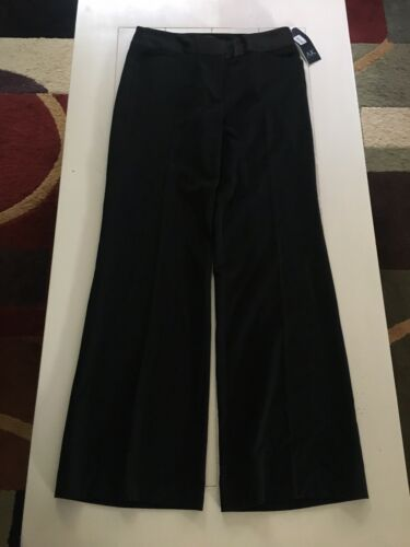 Anne Klein Women's Size 4 Black Dress Pants Slacks Stretch NWT