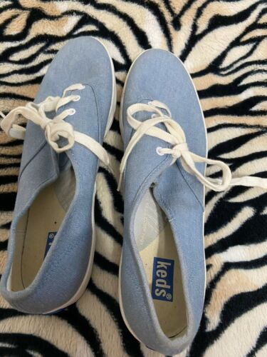 Womens Keds Blue New Sz 10