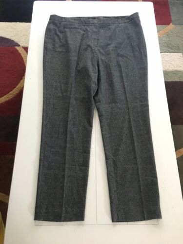 Worthington Women's Size 14 Grey Dress Pants Slacks Modern Fit