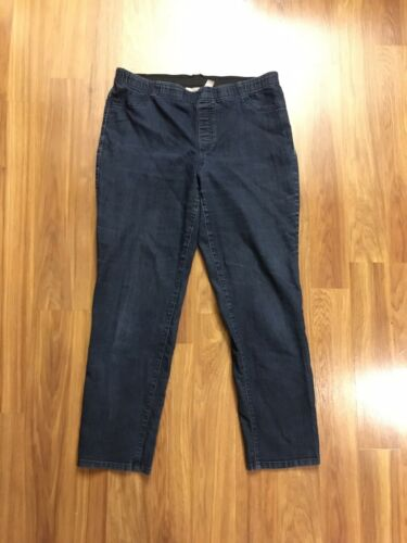 Chico's 2.5 Women's Blue Stretchy Jean Pants