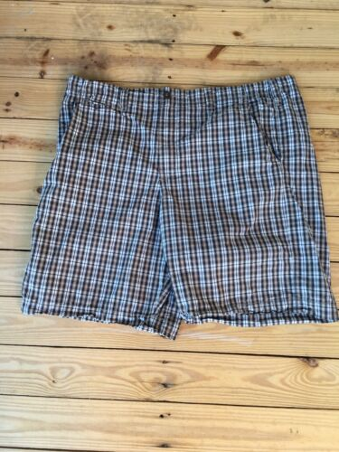 Merona Mens Size 42 Plaid Shorts With Pockets