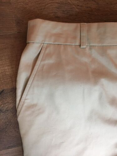 JM Collection Women's Size 12 Khaki Capri Pants With Pockets NWT