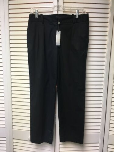 Talbots Women's Size 4 Black Dress Pants Signature Cut NWT