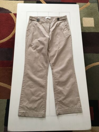 Talbots Women's Size 10 Signature Boot Cut Beige Khaki Pants