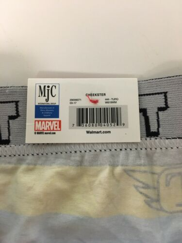 Marvel Juniors Size Large 7 Thor Panties Cheekster Underwear NWT