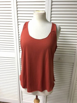 American Rag Women's Size XL Burn Orange Colored Tank Top