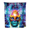 """Digital Awakening"" Microfiber Art Blanket"