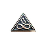 "Infinite Evolution ""Gold Galaxy"" Signature Logo Pin"