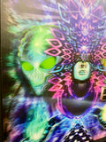 """Space-Time Consciousness"" - 3D Lenticular print with Augmented Reality"
