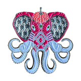 """Pink Octophant"" Limited Edition Pin"