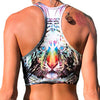 """Tigeroptic"" Women's Crop Top- Clearance"
