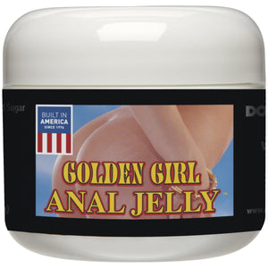 Golden Girl Anal Jelly 2 Oz Bulk DJ1343-00