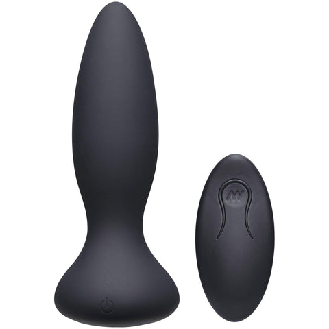 A-Play - Thrust - Adventurous - Rechargeable  Silicone Anal Plug With Remote DJ0300-07-BX