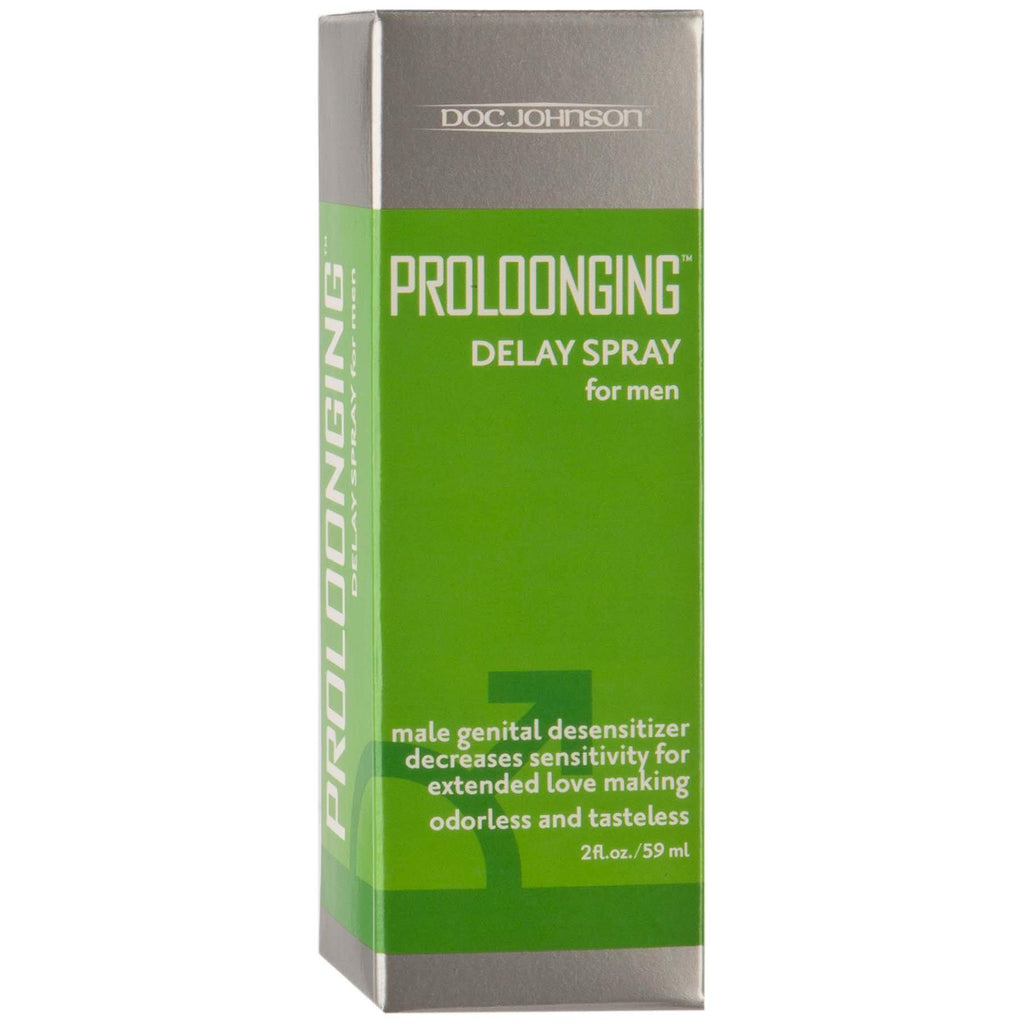 Proloonging Delay Spray for Men - 2 Fl. Oz. - Boxed DJ1310-02